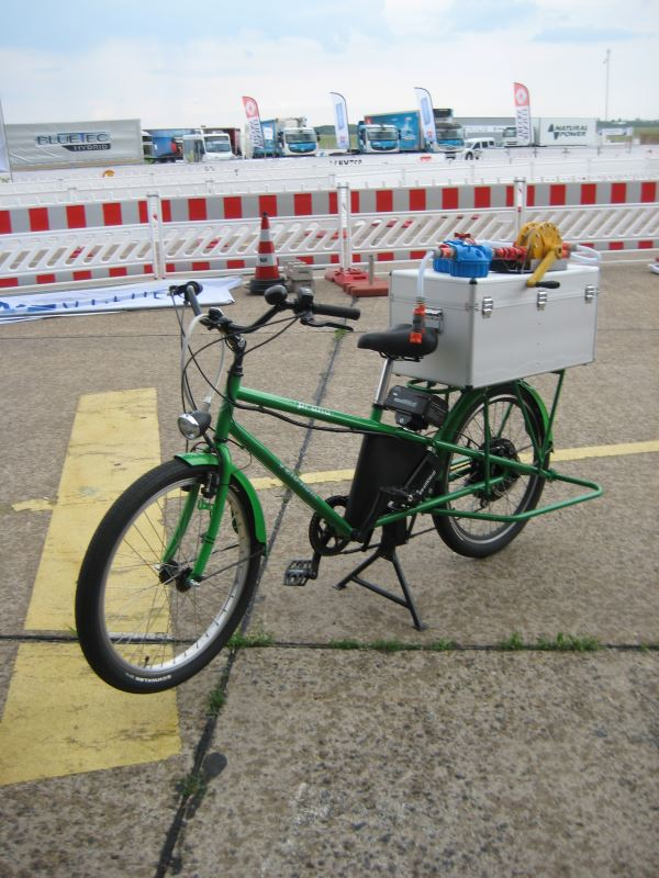 projects - green waterbike